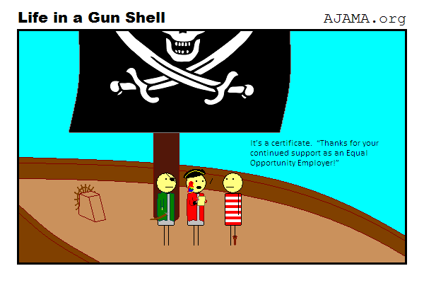 Pirates: An equal opportunity employer